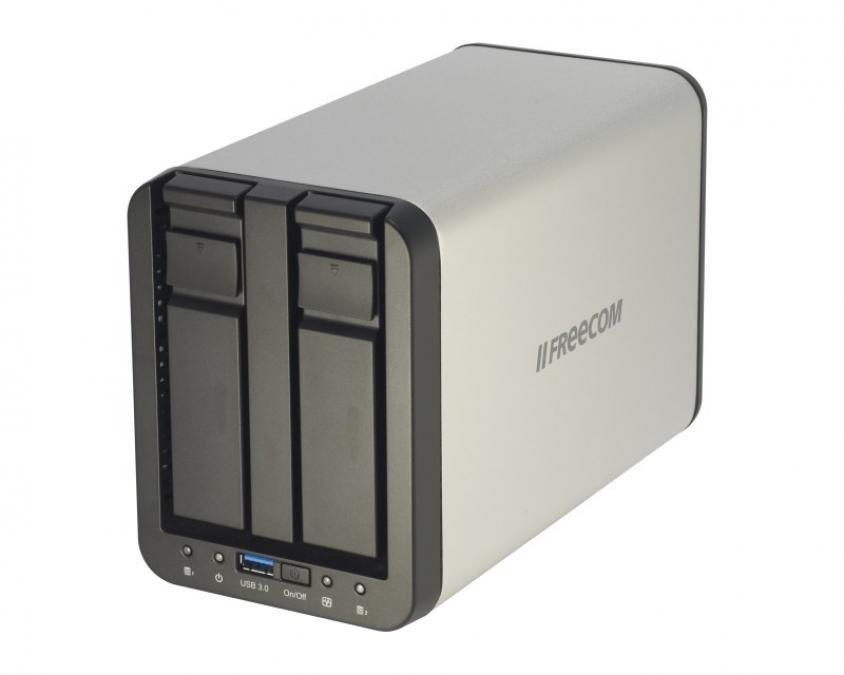 Freecom Silverstore 2-Drive NAS 2TB review   Expert Reviews