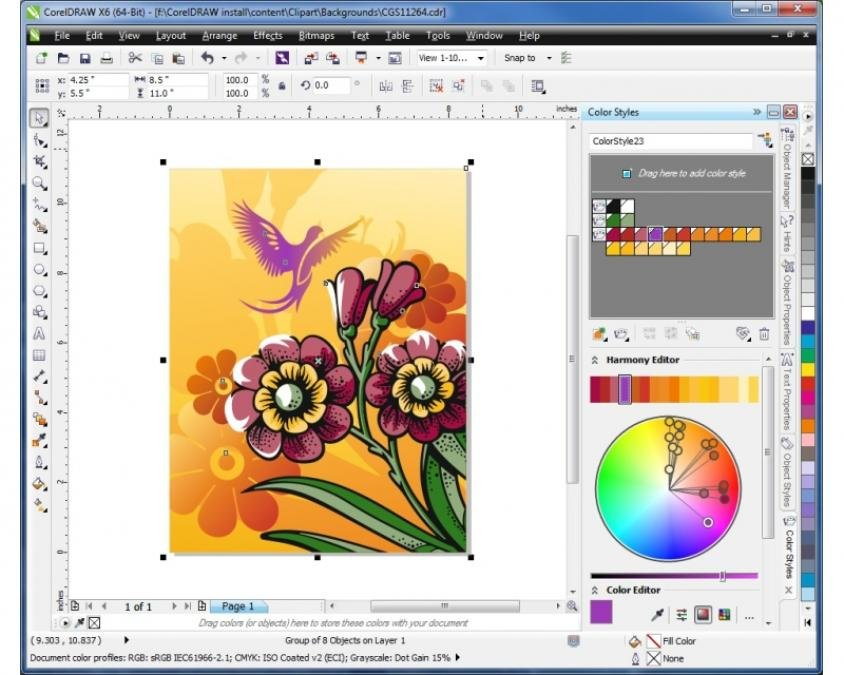 corel draw free download software 13