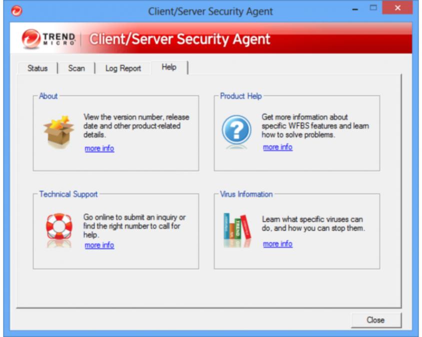 Trend Micro Client Server Security Agent Password Reset