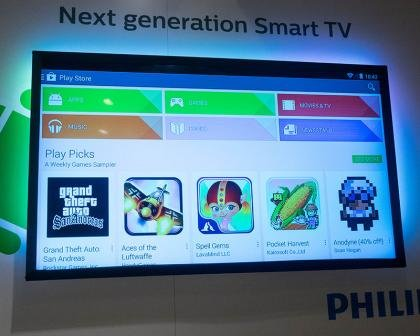 Philips is using Android for its 2014 smart TVs | Expert Reviews